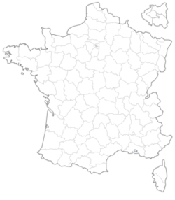 Carte interactive des départements de France